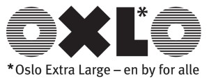 Logo OXLO en by for alle, svart