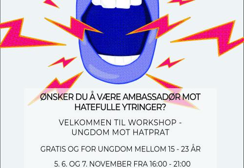Plakat - Ungdom Mot Hatprat - final